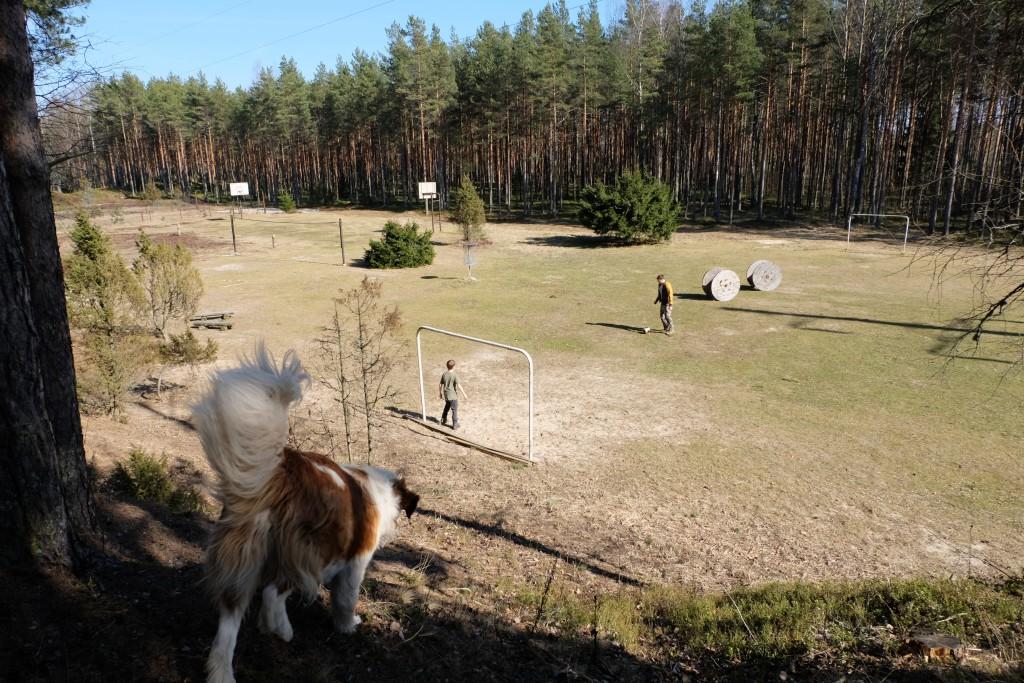 спортивная площадка sport aktiivne puhkus Kallaste Turimitalu www.kallastetalu.ee
