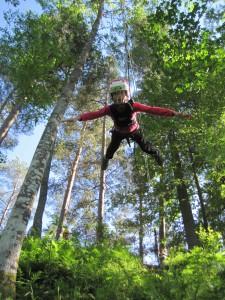 Vabalangemine Свободное падение / Прыжок Тарзана