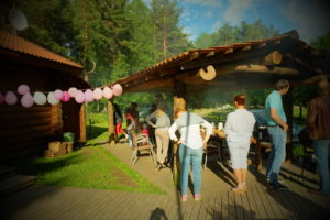 Нижний комплекс pidu alumises kompleksis Holiday resort in Padise, Harjumaa - only 45 km from Tallinn www.kallastetalu.ee Kallaste Turismitalu OÜ - metsapuhkus kauni looduse keskel - accommodation, sauna, seminars