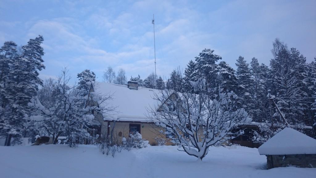 Kallaste Turismitalu talv kutsub - ELAMUSTALU Harjumaal - talvepäevad , jõulupidu, lumi. snow in Holiday resort in Estonia