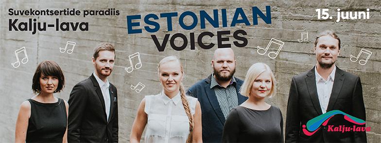 Estonian Voices Kalju-laval 15.06.2017 www.kaljulava.ee