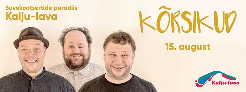 Kõrsikud Kalju-laval 15.08.2017