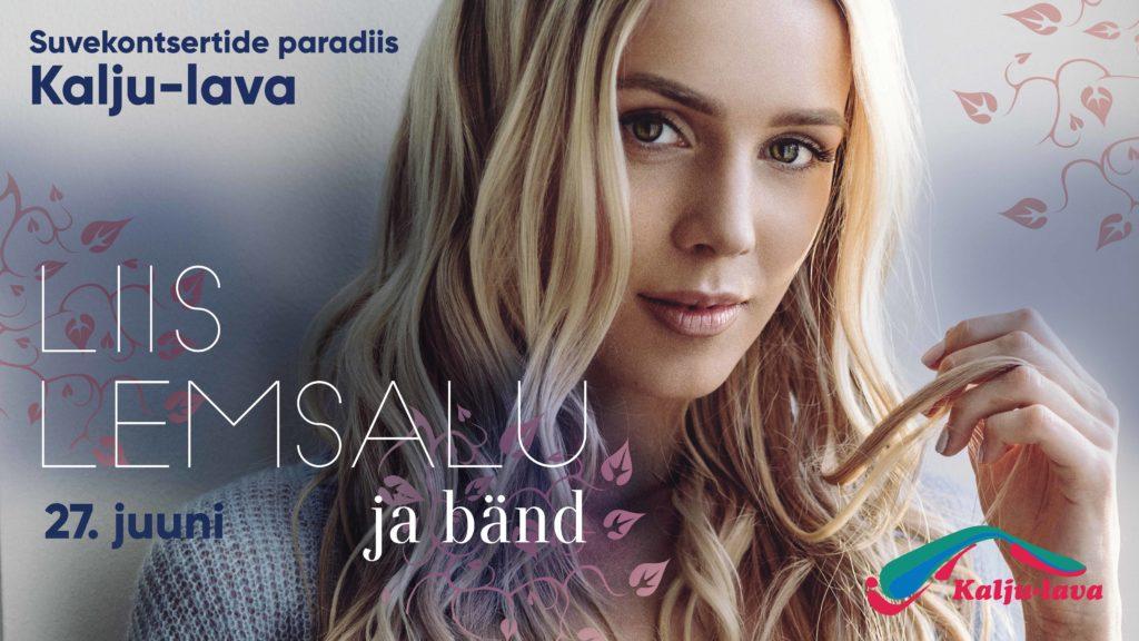 Liis Lemsalu ja bänd kontsert Kalju-laval 27.07.2017 - www.kaljulava.ee
