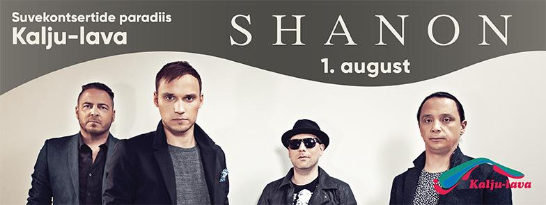shanon kontsert Kalju-laval 01.08.2017 www.kaljulava.ee