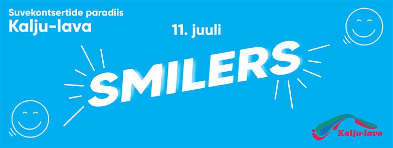 Smilers kontsert kalju-laval 11.07 www.kaljulava.ee