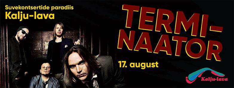 Terminaator kontsert Kalju-laval 17.08.2017
