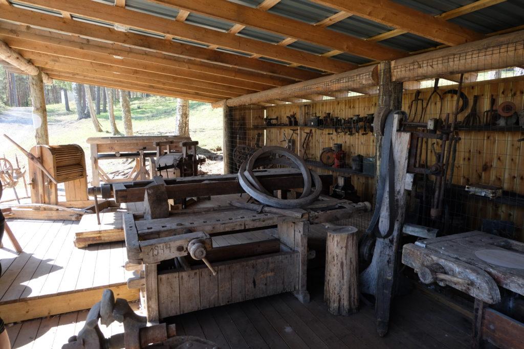 Giidiga talumuuseumi külastus