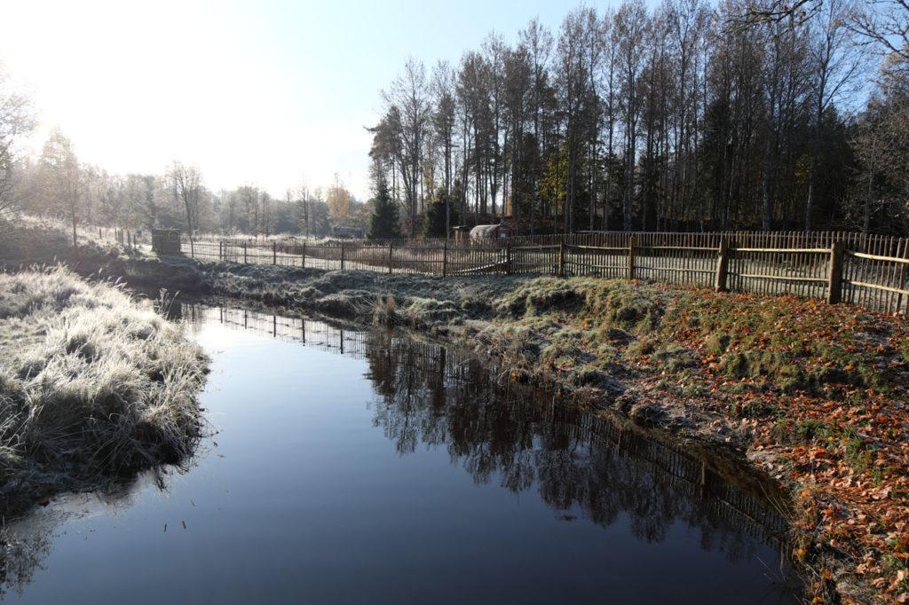 sügis - kallaste turismitalus - Kloostri jõgi - külm - kaks kallast - Autumn
