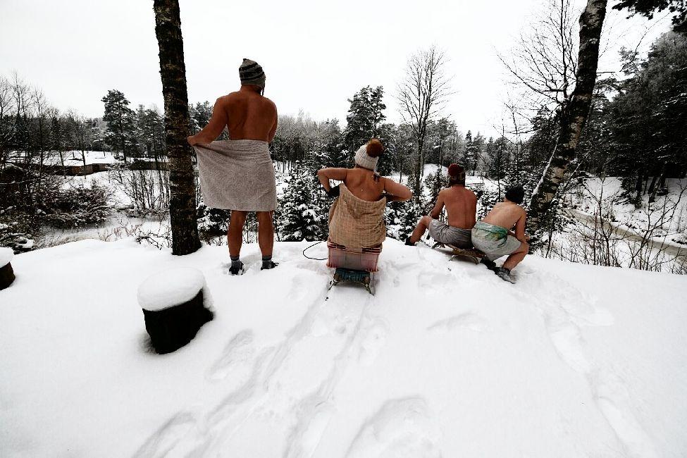 Detsember - jõulud - saun - Kallaste turismitalu - kallastetalu.ee