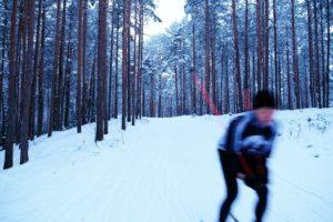 Suusatamine talvel Padise Kallaste turismitalu www.kallastetalu.ee