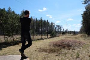 Disc-Golf - disc golf - aktiivne tegevus - Kallaste Turismitalu