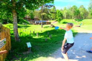 Disc - Golf- disc golf - discgolf - Padisel Kallaste Turismitalus - 18 korviga - Kallaste Turismitalus 3