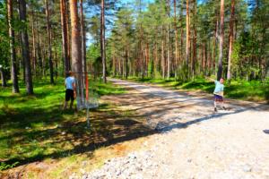 Disc-Golf - loodus - mets - disc golf Harjumaal - 18 korvi - vaheldusrikas rada - lapsed - aktiivne puhkus