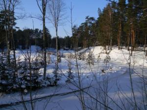 Kallaste Turismitalu talv kloostrijõgi www.kallastetalu.ee